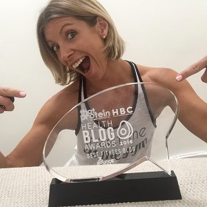 Winner of Best Fitness Blog and the 2016 Health Blog Awards