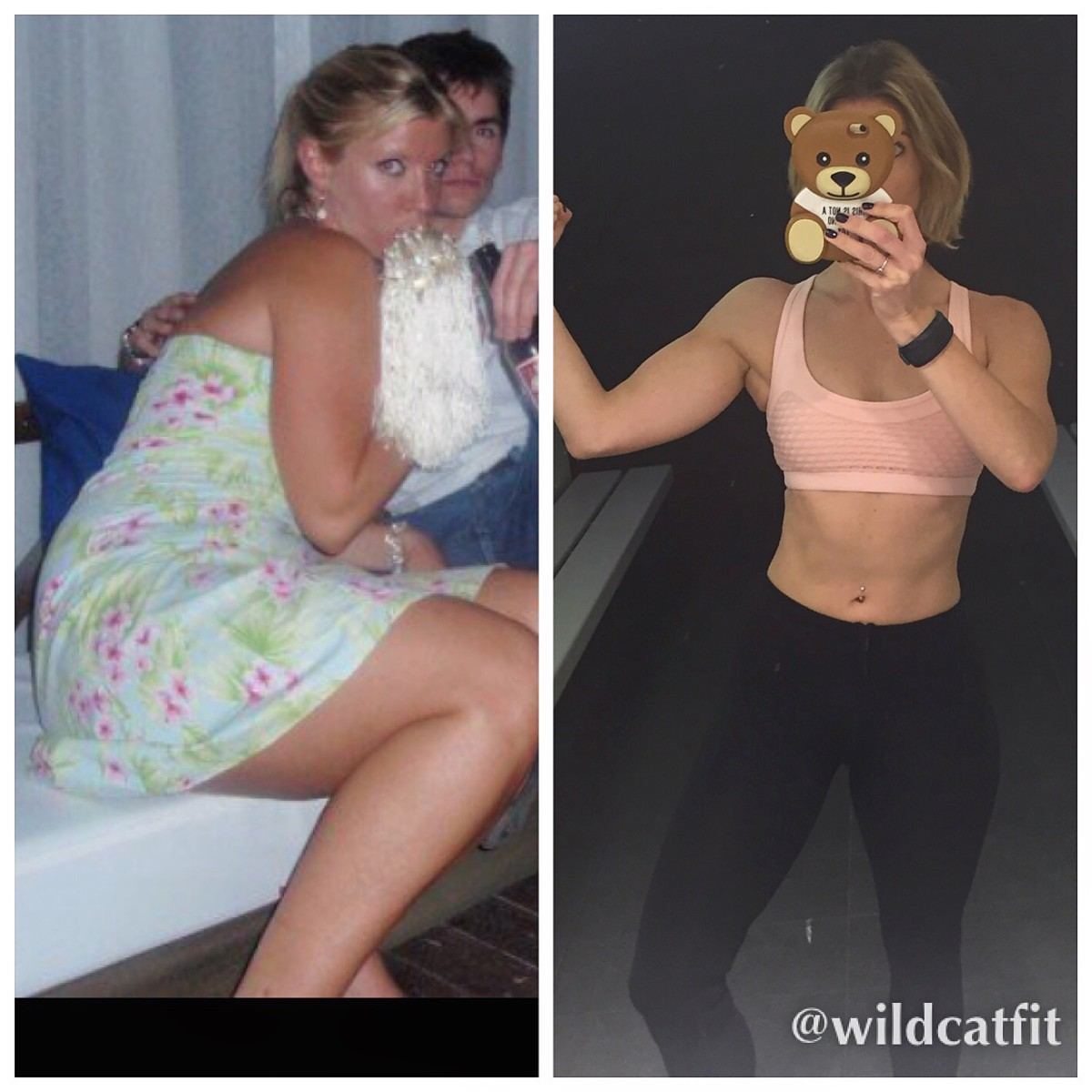 Body Transformation and Weight Loss by Wildcat Fitness UK